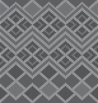 Gestrickte muster textur design