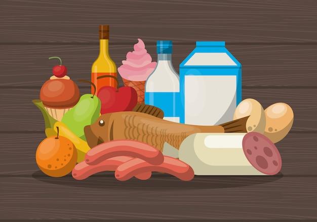 Gesunde ernährung lebensstil