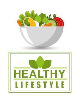 Gesunde lebensstilelemente