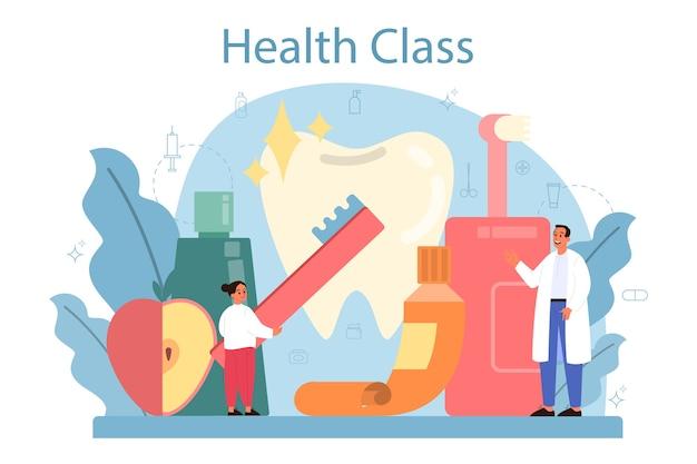 Gesunde lebensweise klasse