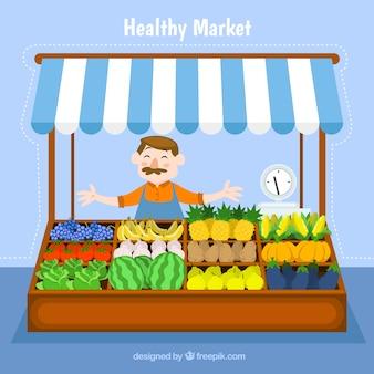 Gesunde markt