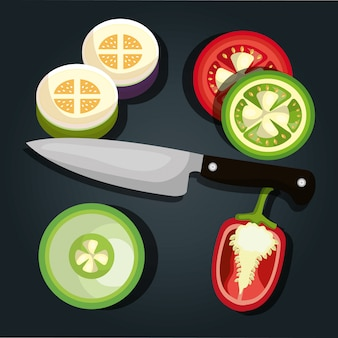 Gesundes essen design