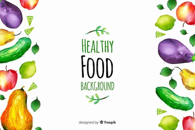 Gesundes essen hintergrund
