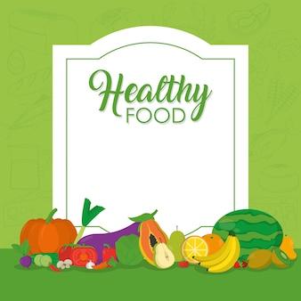 Gesundes Essen Obst und Gemüse