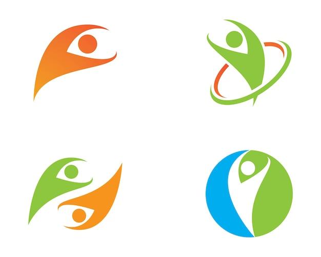 Gesundes leben logo