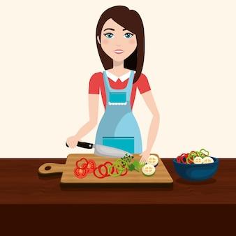 Gesundes und leckeres essen