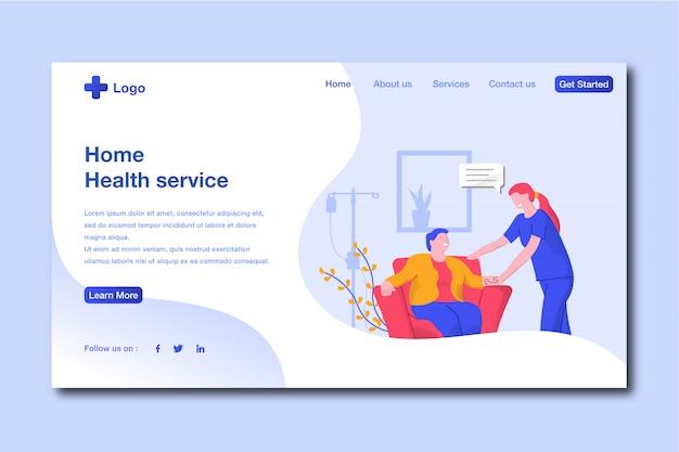 Gesundheit landing page