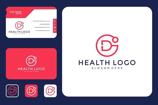 Gesundheit logo-design und visitenkarte