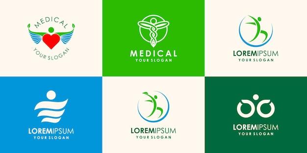 Gesundheit menschen logo symbol vektor