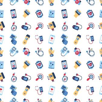 Gesundheit sensor icons sammlung Premium Vektoren