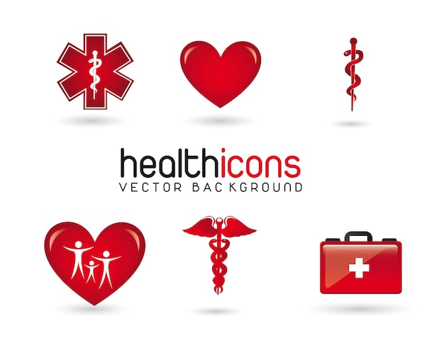 Gesundheits-icons