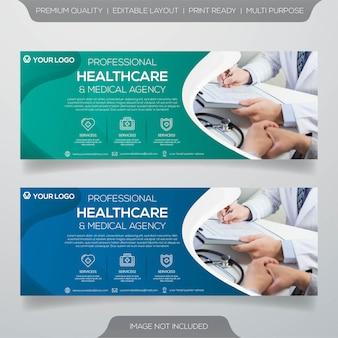 Gesundheitswesen banner vorlage