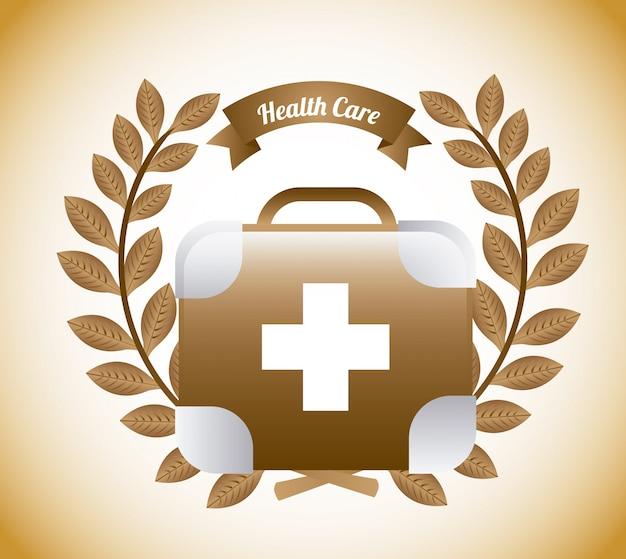 Gesundheitswesen grafikdesign