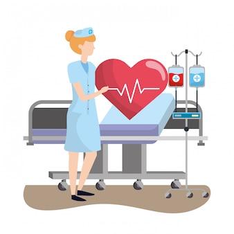 Gesundheitswesen medizinische karikatur