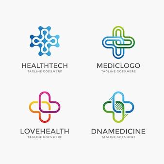 Gesundheitswesen und apotheke symbole