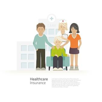 Gesundheitswesen und freunde