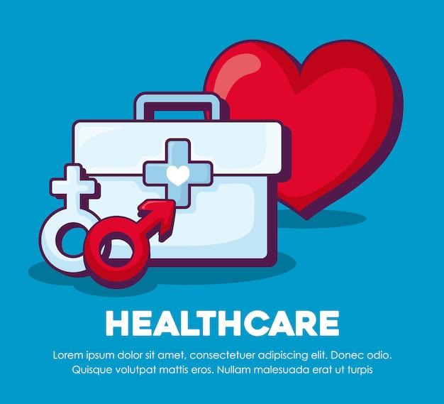 Gesundheitswesen und herz