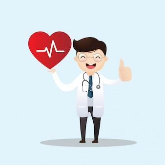 Gesundheitswesen und kardiologie-konzept