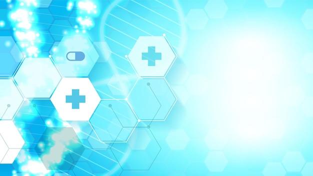 Gesundheitswesen und medizin elegant