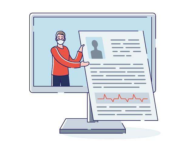 Gesundheitswesen und online-medizin
