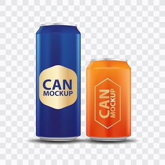 Getränk kann vorlage vorderansicht