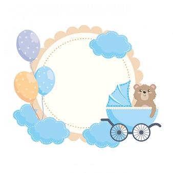 Getrenntes babypartysymbol