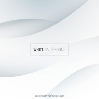 Gewellten weißen hintergrund