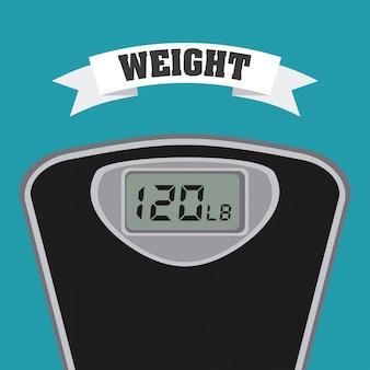 Gewicht maßnahme