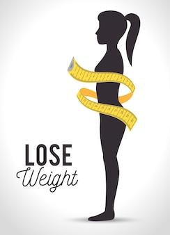 Gewicht verlieren design
