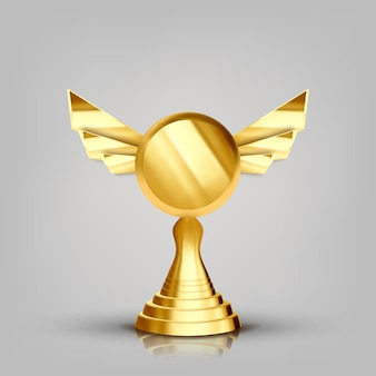 Gewinner goldener pokal
