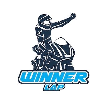 Gewinner moto gp ilustration