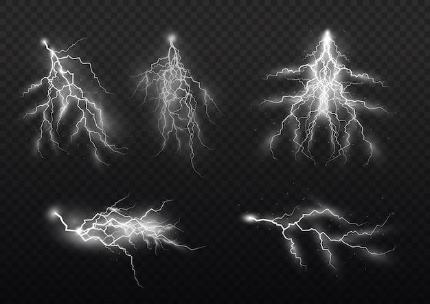 Gewitter und blitz, die wirkung von blitz, licht, licht und glanz, reißverschlüsse