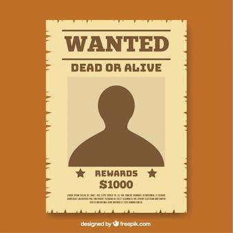 Bilder - Wanted Poster   Gratis Vektoren, Fotos und PSDs