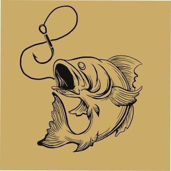 Gezeichnete illustration der fliegenden faust hand