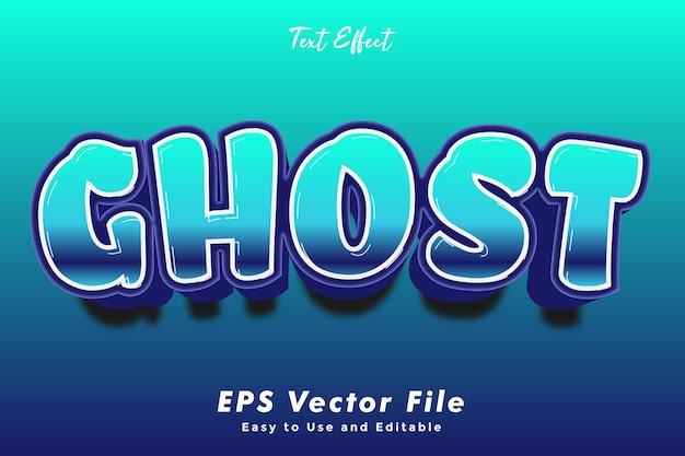 Ghost-text-effekt.