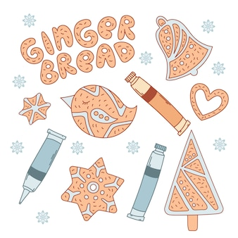 Ginger brot set