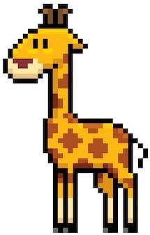 Giraffen-cartoon-pixel-design