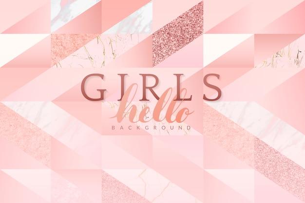 Girly rosa hintergrund