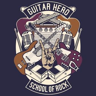 Gitarren held