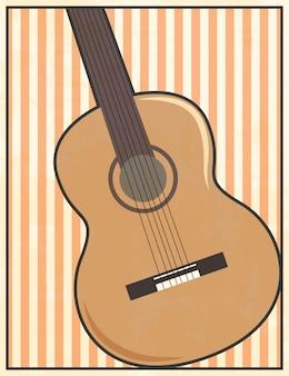 Gitarrenillustration