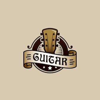 Gitarrenlogoentwurf