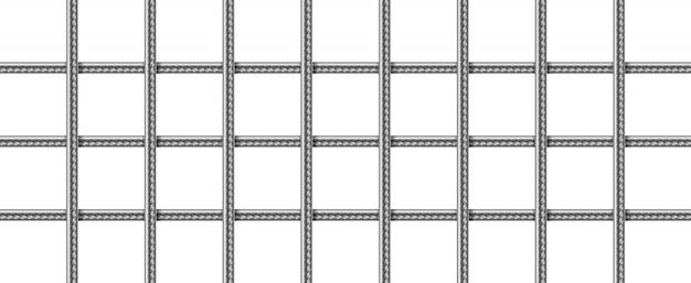 Gitter aus stahlbewehrungsstäben, geschweißtes metalldrahtgeflecht
