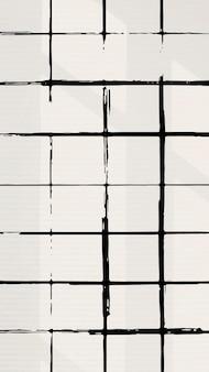 Gittermuster instagram geschichte hintergrundvektor, gittermusterdesign