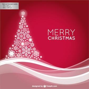 Glänzend merry christmas background
