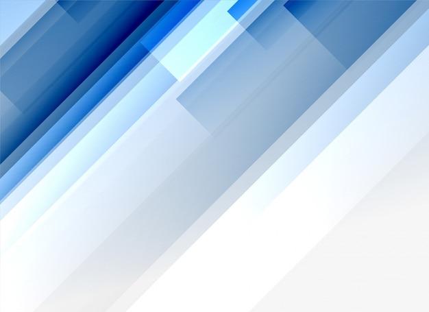 Glänzende blaue linien abstrakter hintergrund