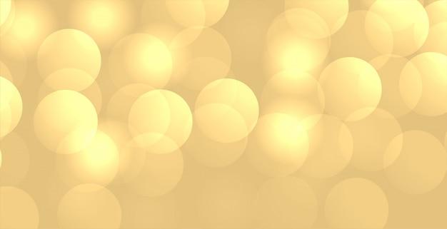 Glänzende bokeh-hintergrundtapete mit textraum