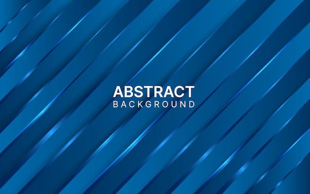 Glänzender dunkelblauer abstrakter gradientenhintergrund.