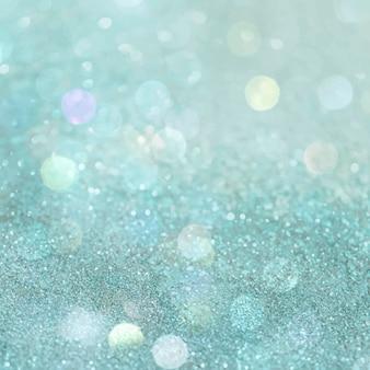 Glänzender grüner glitter strukturierter hintergrund