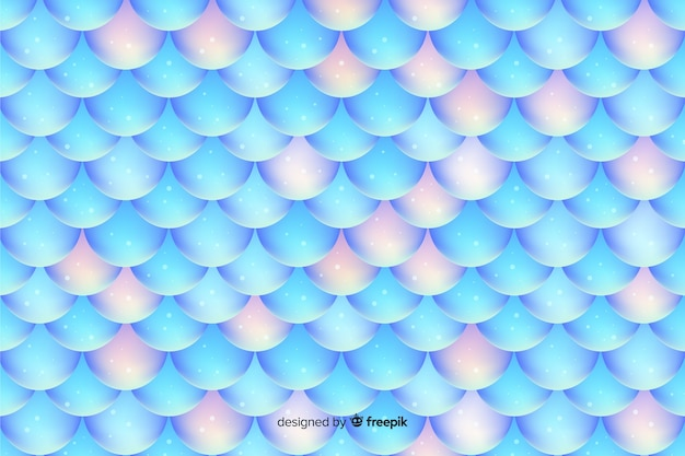 Glänzender holographischer meerjungfrauschwanzhintergrund