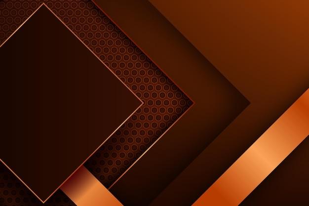 Glänzender luxuriöser geometrischer hintergrund